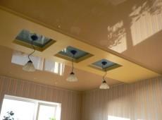 как выбрать потолок для кухни
