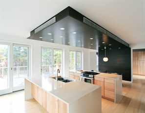 виды потолков на кухне