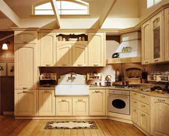 Кухня в классическом французском стиле
