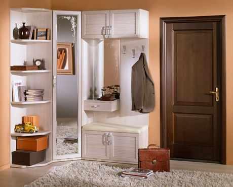 Дизайн прихожей угловой в малогабаритной квартире