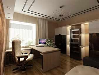 Дизайн кабинета в своем доме