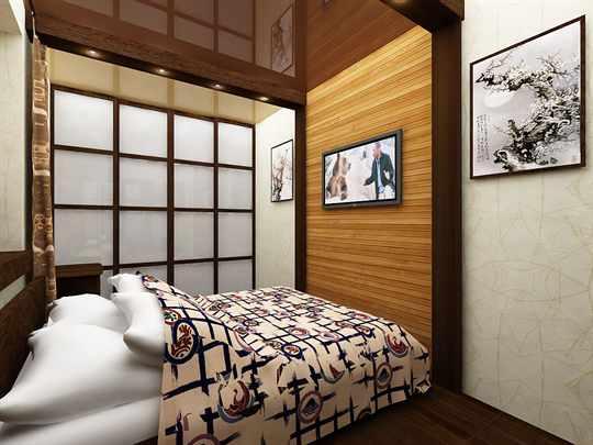 Как выполнить красивый интерьер спальни без окна?.