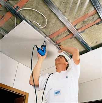 Обшить потолок гипсокартоном своими руками фото