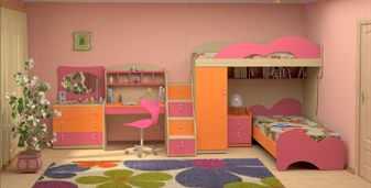 Детская с мебелью