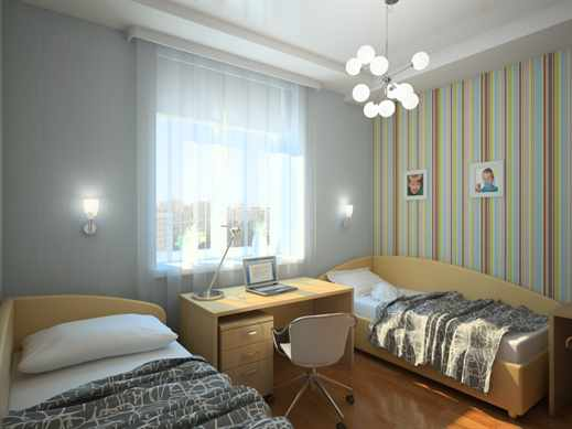 Спальня для 2 мальчиков фото
