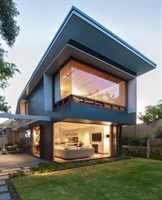 дом интересной формы