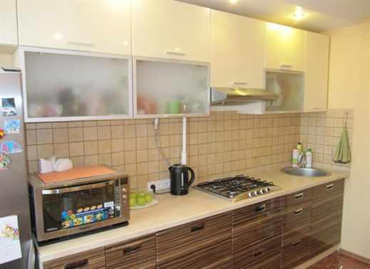 фото кухонь зебрано с белым