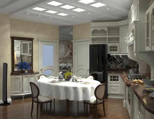 Кухня гостиная дизайн современная фото