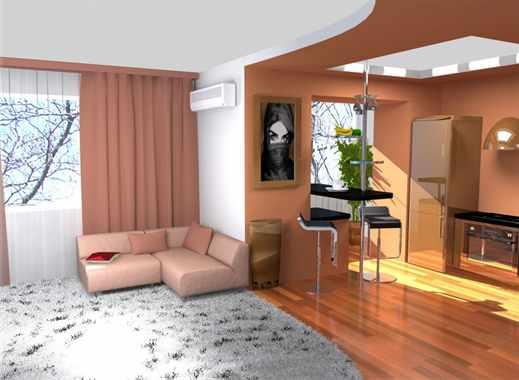 Как сделать перепланировку в однокомнатной квартире своим 871