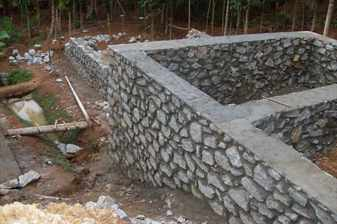 Фундамент щитовго дома дома