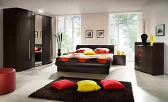 Мебель цвета венге в интерьере