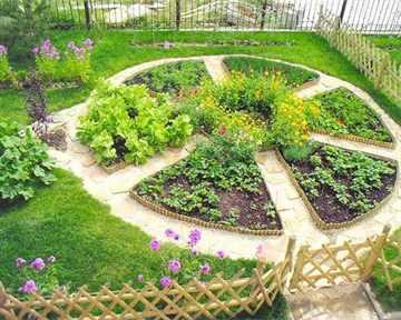 Украсить огород своими руками с фото фото 872