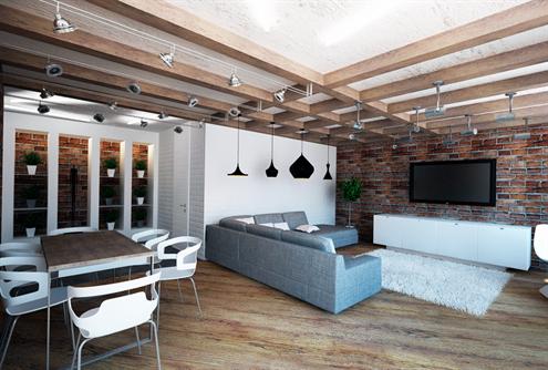 Оформление и дизайн однокомнатной квартиры