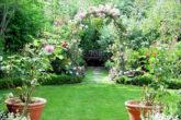Английский стиль для сада