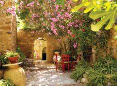 Средиземноморский стиль в оформлении ландшафтного дизайна