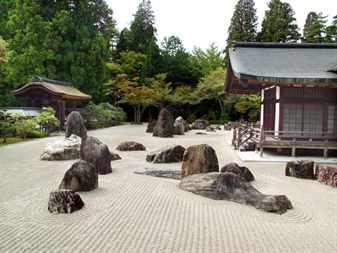 Как обустроить японский сад камней?