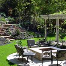Дизайн двора частного дома: создаем красивый патио