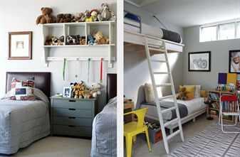 Дизайн интерьера спальни для мальчика