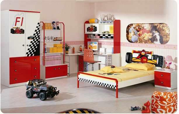 интерьер детской для подростка мальчика в стиле лофт китч и авангард