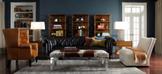 Интерьер гостиной с мебелью в английском стиле