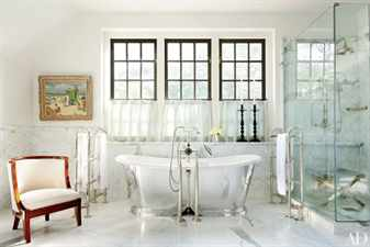 Ванная комната в античном стиле