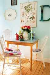 ретро стулья белого цвета
