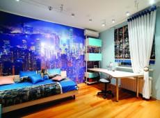 Декор стен комнаты подростка