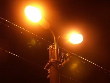 Уличное освещение многоквартирного дома