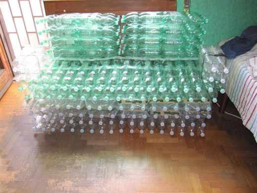 Мебель из бутылок своими руками фото 595