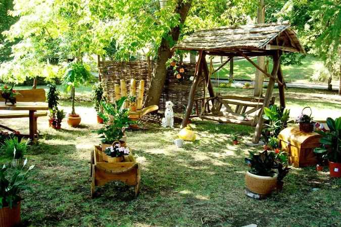 Скульптуры животных для сада