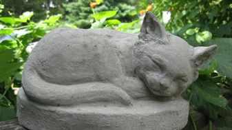 Садовые скульптуры из бетона своими руками