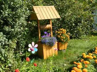 Декоративный колодец в саду: креативные идеи для украшения участка