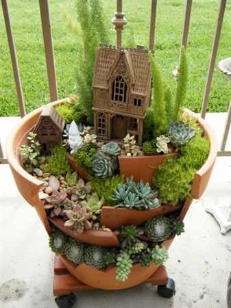 Волшебные мини сады