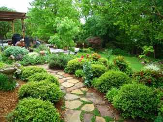 Какой стиль выбрать для сада на даче